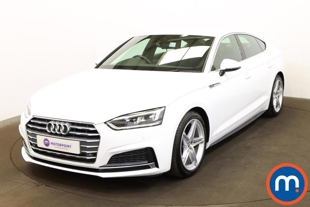 Audi A5 2.0 TFSI S Line 5dr - Stock Number 1199332 Passenger side front corner