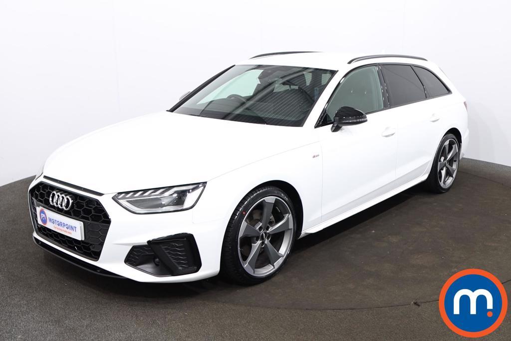 Audi A4 35 TDI Black Edition 5dr S Tronic - Stock Number 1201348 Passenger side front corner