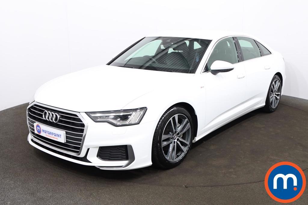 Audi A6 40 TDI S Line 4dr S Tronic - Stock Number 1204591 Passenger side front corner