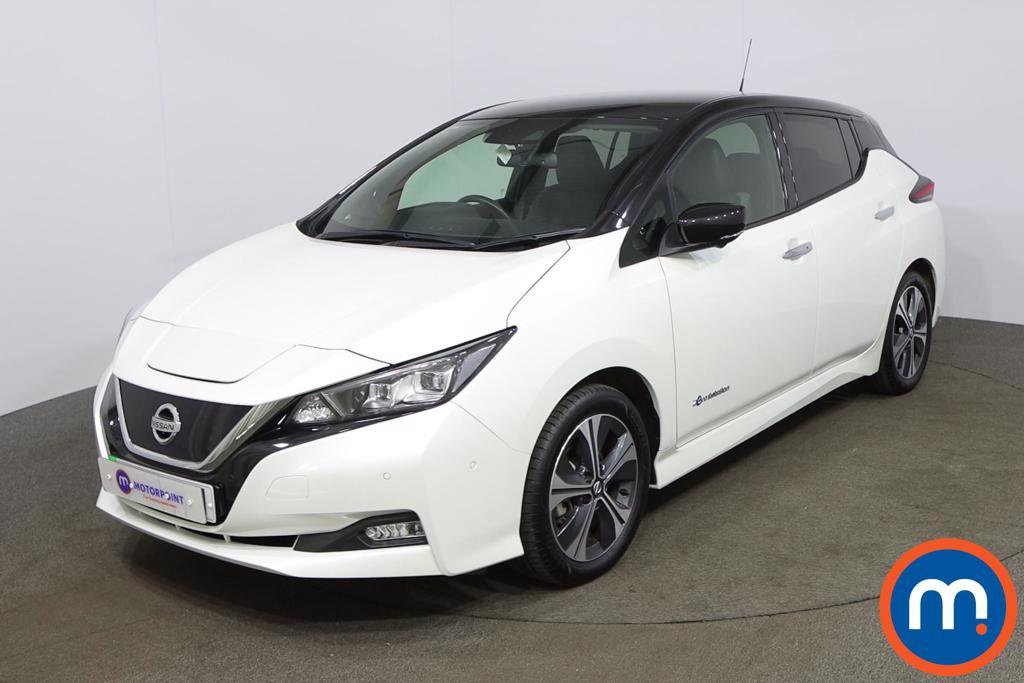 Nissan Leaf 110kW Tekna 40kWh 5dr Auto - Stock Number 1205298 Passenger side front corner