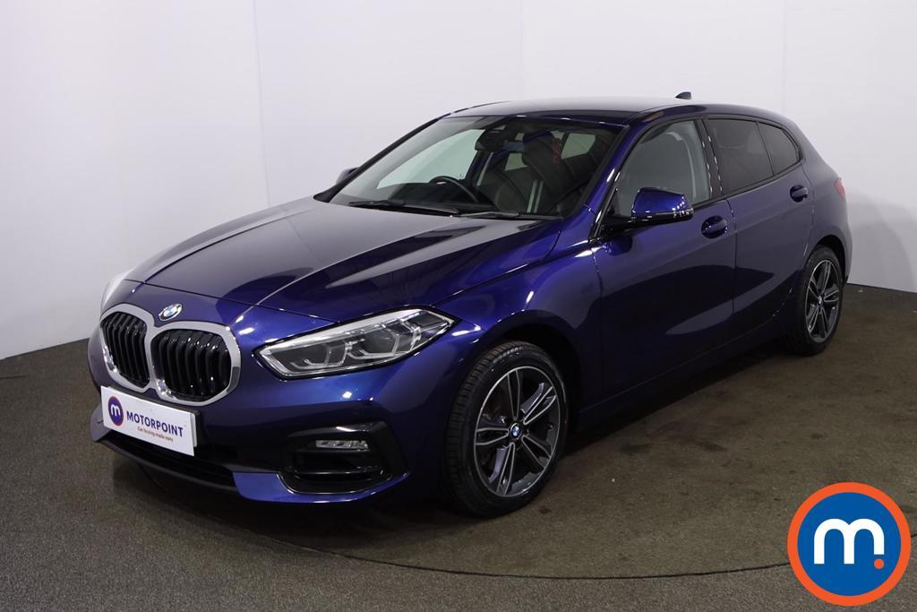 BMW 1 Series 118i Sport 5dr - Stock Number 1202801 Passenger side front corner