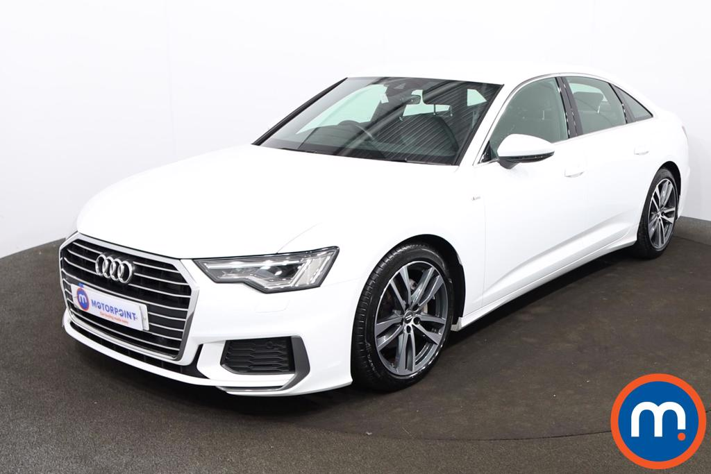 Audi A6 40 TDI S Line 4dr S Tronic - Stock Number 1204968 Passenger side front corner