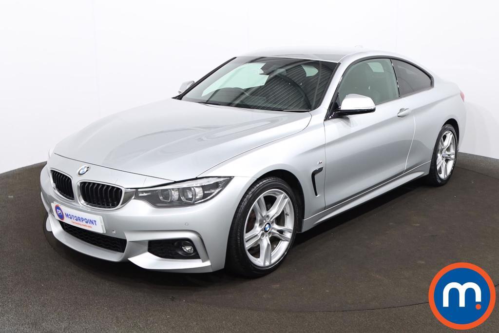 BMW 4 Series 420d [190] M Sport 2dr Auto [Professional Media] - Stock Number 1206581 Passenger side front corner