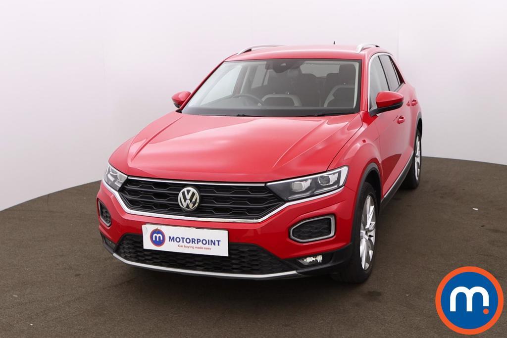 Volkswagen T-Roc 1.5 TSI EVO SEL 5dr - Stock Number 1202978 Passenger side front corner
