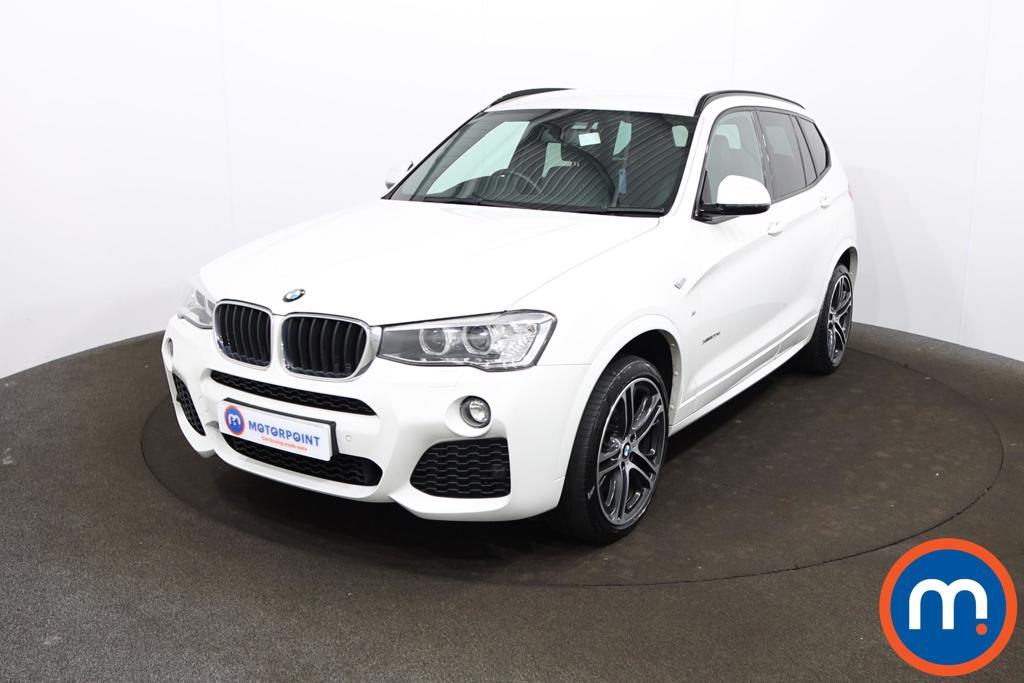 BMW X3 xDrive20d M Sport 5dr Step Auto - Stock Number 1204748 Passenger side front corner