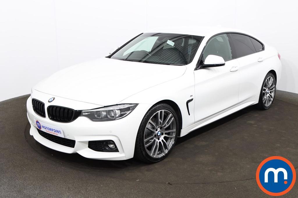 BMW 4 Series 420i M Sport 5dr Auto [Professional Media] - Stock Number 1205952 Passenger side front corner
