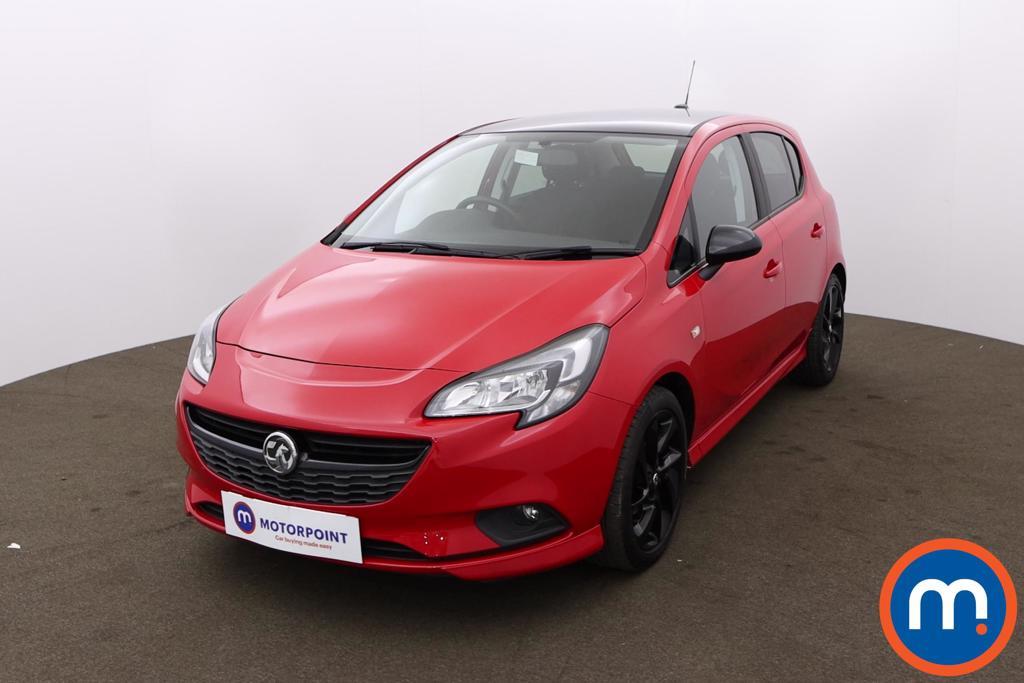 Vauxhall Corsa 1.4 SRi Vx-line Nav Black 5dr - Stock Number 1185972 Passenger side front corner