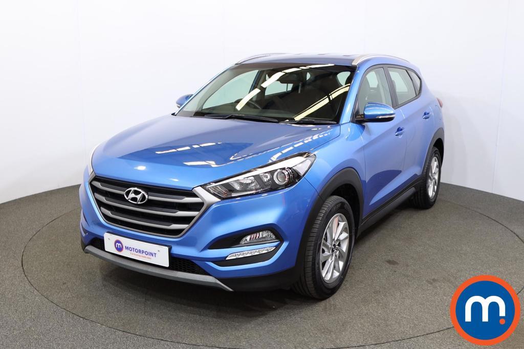 Hyundai Tucson 1.7 CRDi Blue Drive SE 5dr 2WD - Stock Number 1187108 Passenger side front corner