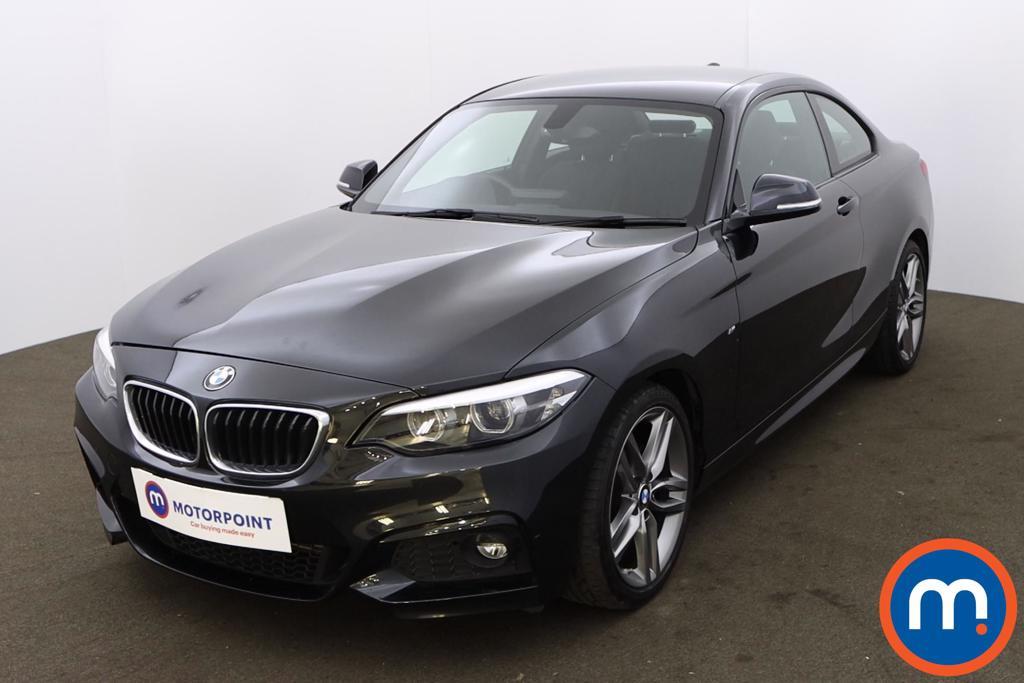 BMW 2 Series 218d M Sport 2dr [Nav] - Stock Number 1204750 Passenger side front corner