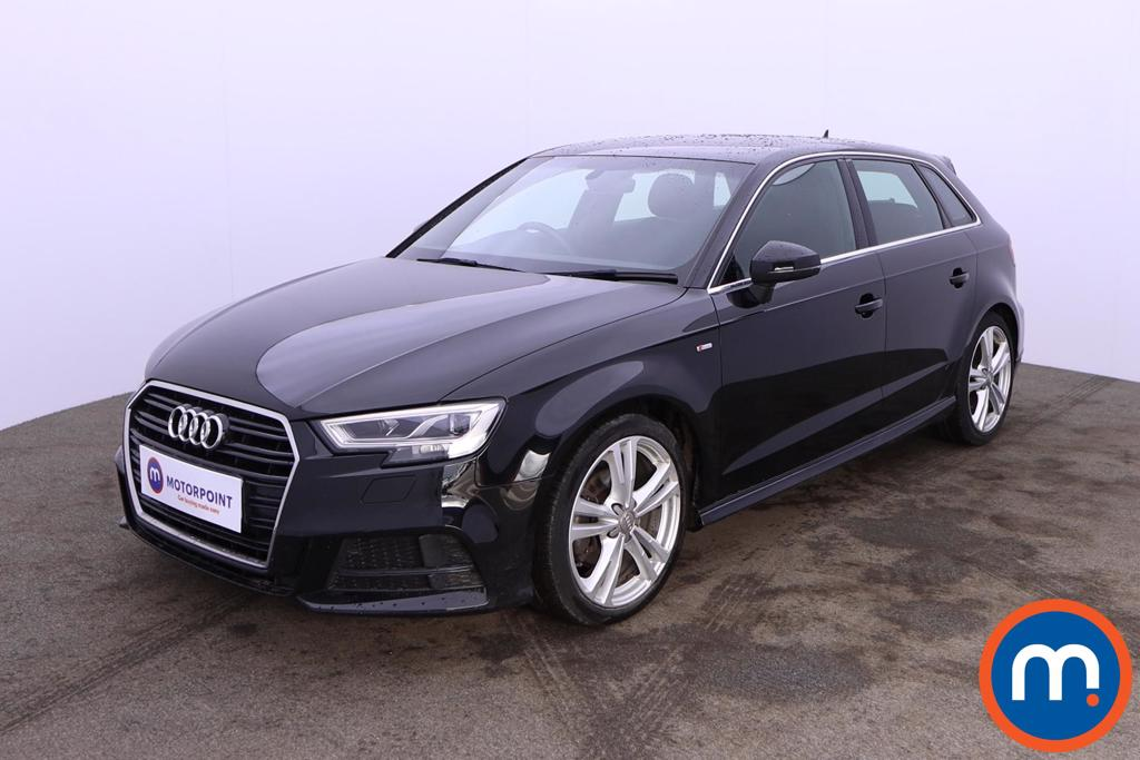 Audi A3 1.5 TFSI S Line 5dr S Tronic [Tech Pack] - Stock Number 1205407 Passenger side front corner