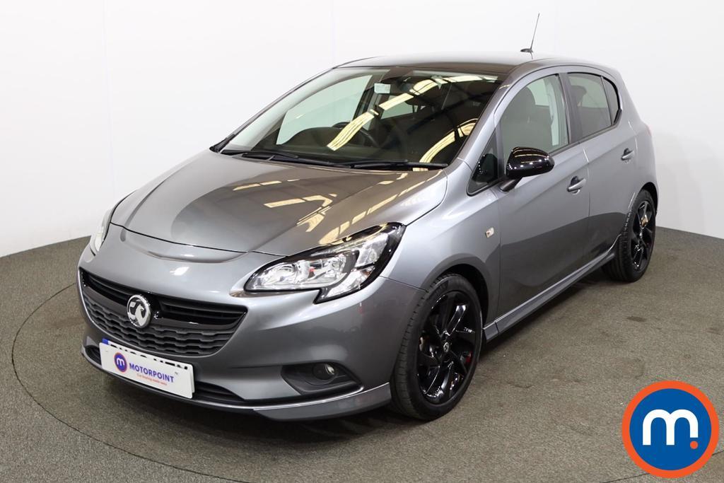 Vauxhall Corsa 1.4 SRi Vx-line Nav Black 5dr - Stock Number 1208066 Passenger side front corner