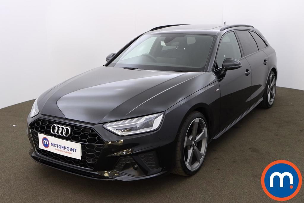 Audi A4 30 TDI Black Edition 5dr S Tronic - Stock Number 1202886 Passenger side front corner
