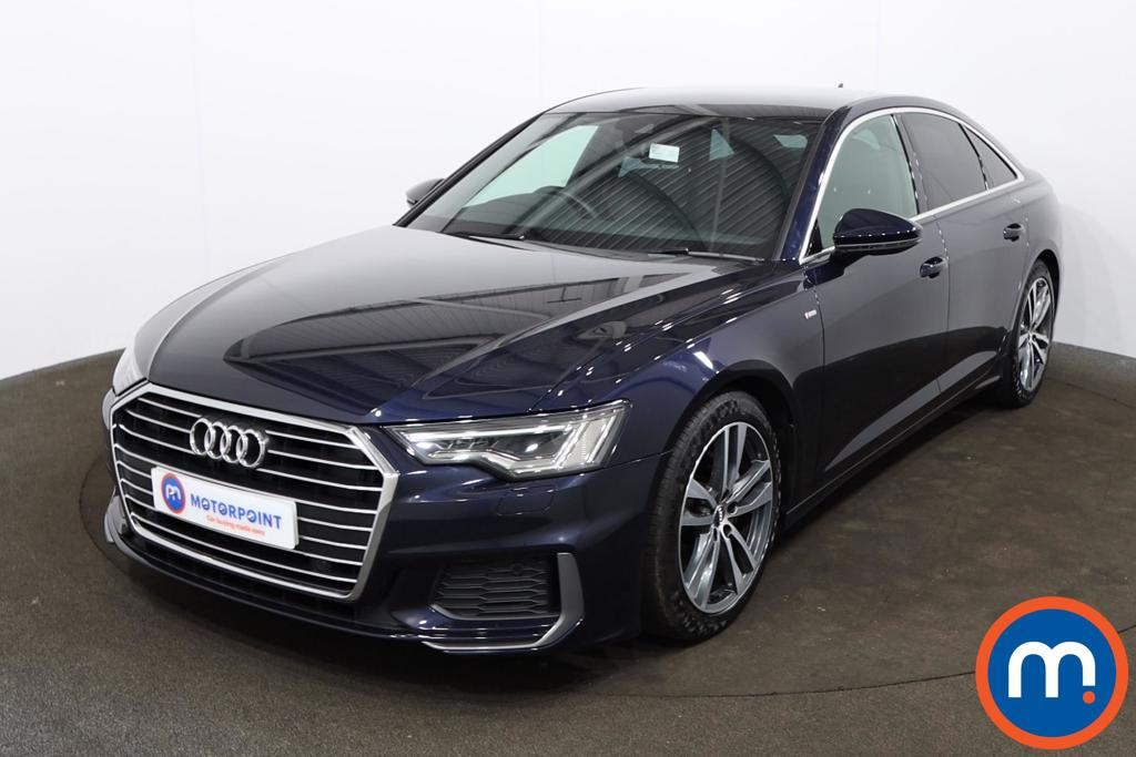 Audi A6 40 TDI S Line 4dr S Tronic [Tech Pack] - Stock Number 1204973 Passenger side front corner