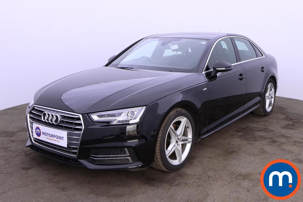Audi A4 2.0T FSI S Line 4dr S Tronic [Leather-Alc] - Stock Number 1205419 Passenger side front corner