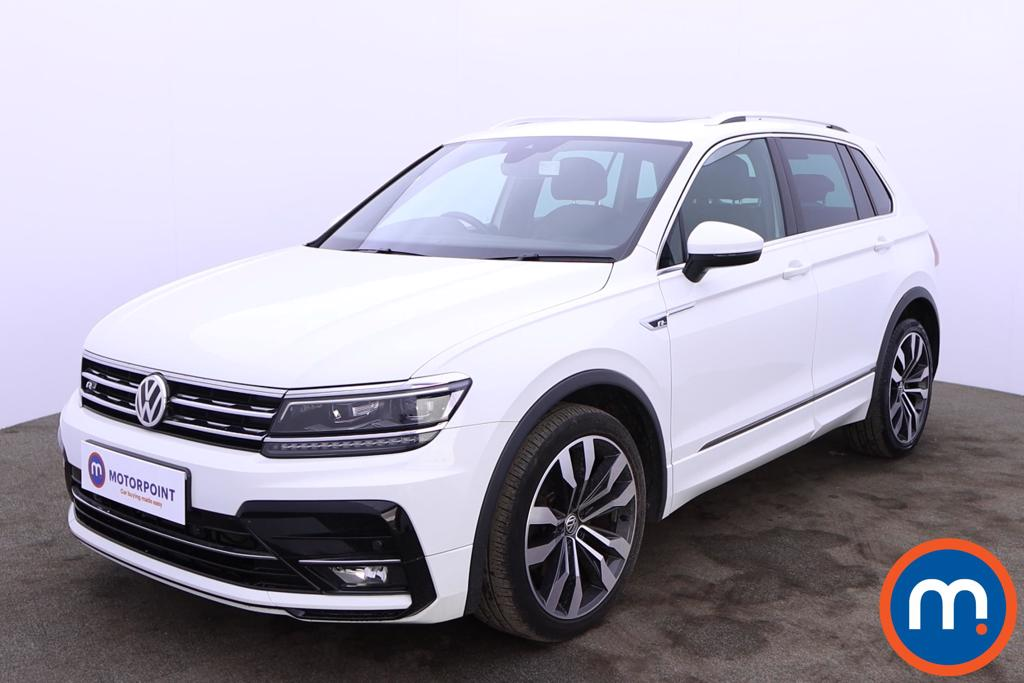 Volkswagen Tiguan 2.0 TDi 190 4Motion R-Line 5dr DSG - Stock Number 1205481 Passenger side front corner