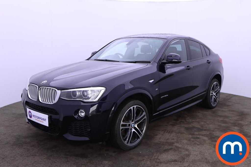 BMW X4 xDrive30d M Sport 5dr Step Auto - Stock Number 1204823 Passenger side front corner