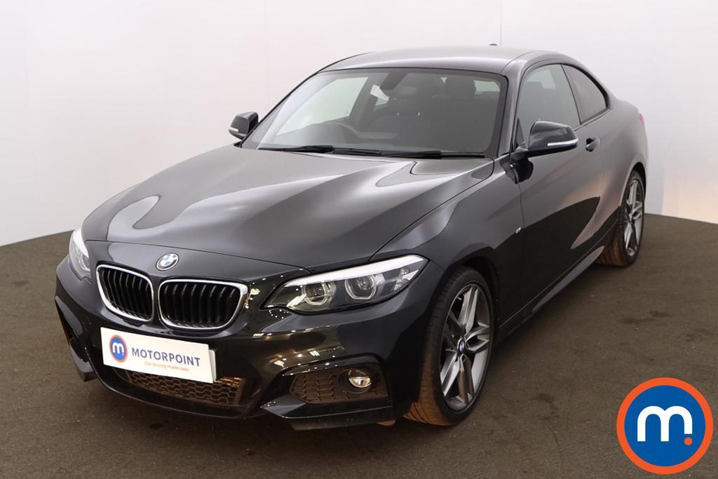 BMW 2 Series 218d M Sport 2dr Step Auto [Nav] - Stock Number 1206479 Passenger side front corner