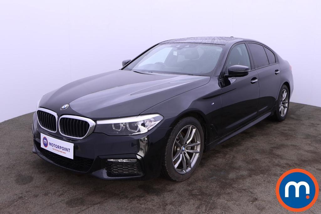 BMW 5 Series 520d M Sport 4dr Auto - Stock Number 1207170 Passenger side front corner