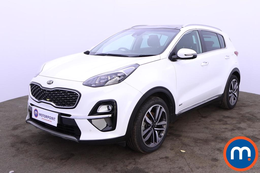 KIA Sportage 1.6T GDi ISG 4 5dr DCT Auto [AWD] - Stock Number 1207350 Passenger side front corner