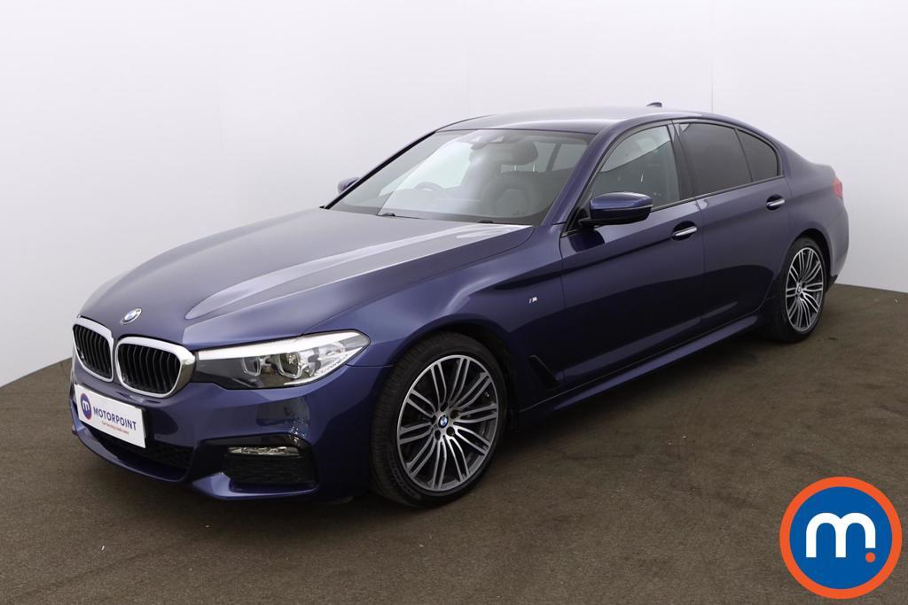 BMW 5 Series 530d M Sport 4dr Auto - Stock Number 1206784 Passenger side front corner