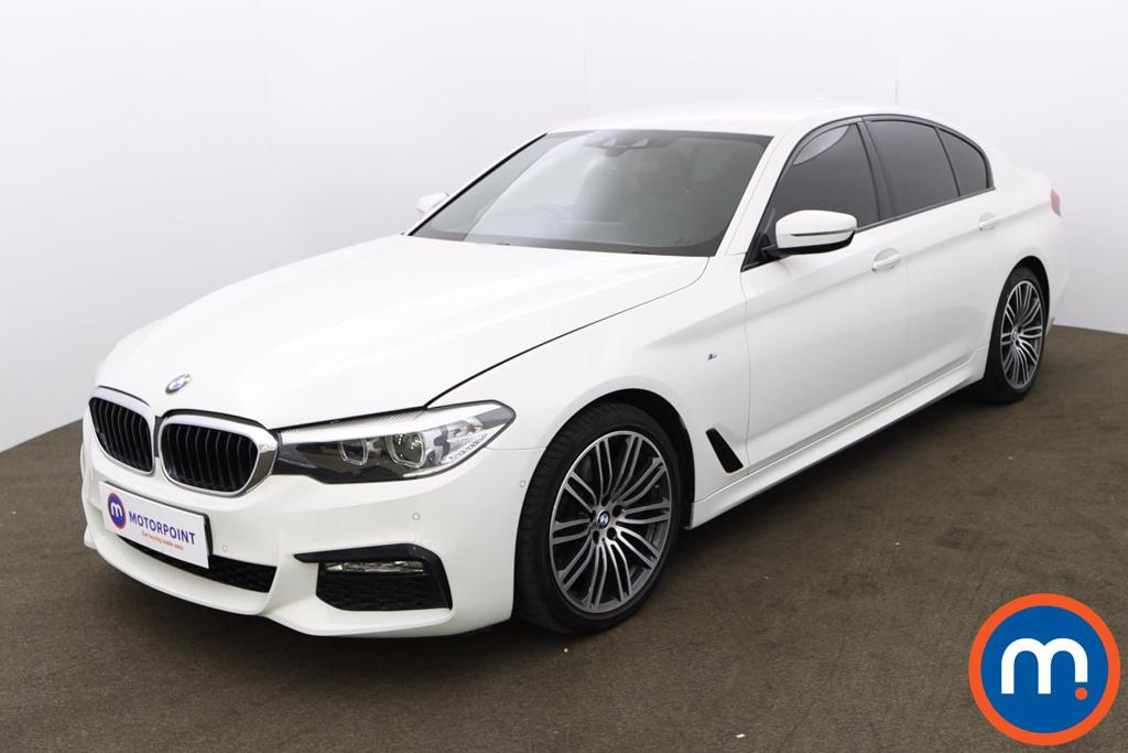 BMW 5 Series 530d M Sport 4dr Auto - Stock Number 1207023 Passenger side front corner