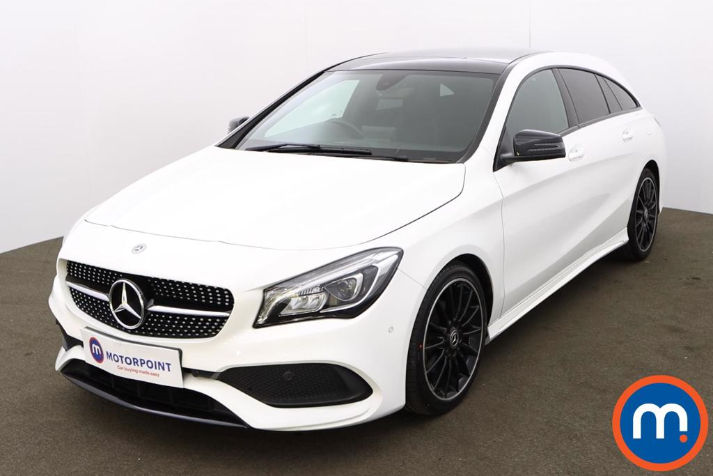 Mercedes-Benz CLA CLA 200 AMG Line Night Edition Plus 5dr Tip Auto - Stock Number 1198823 Passenger side front corner