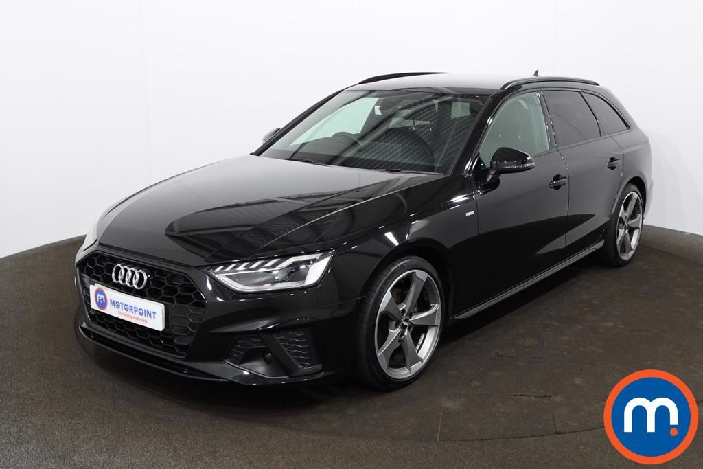 Audi A4 35 TDI Black Edition 5dr S Tronic - Stock Number 1207736 Passenger side front corner