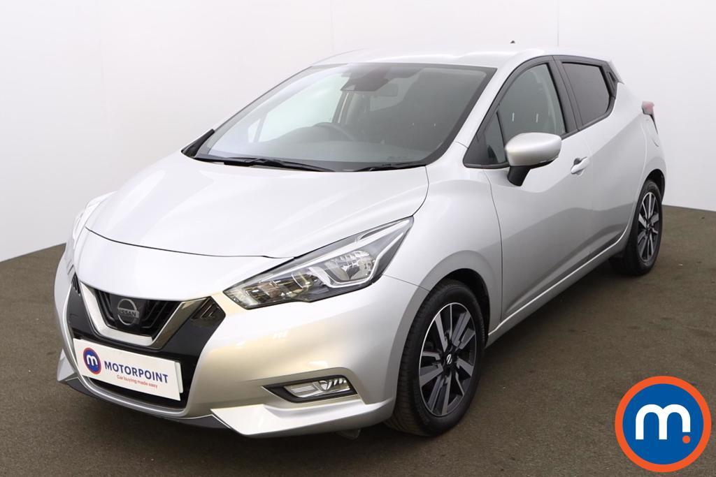Nissan Micra 0.9 IG-T N-Connecta 5dr - Stock Number 1203564 Passenger side front corner