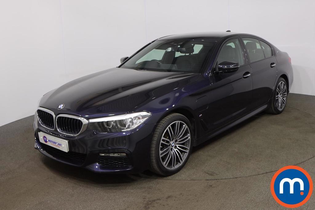 BMW 5 Series 530e M Sport 4dr Auto - Stock Number 1205547 Passenger side front corner