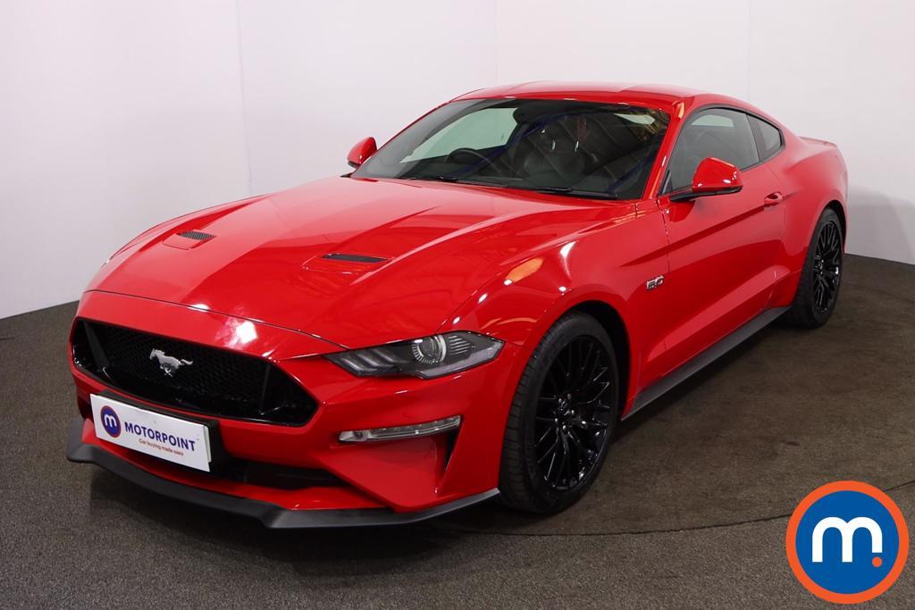 Ford Mustang 5.0 V8 GT 2dr - Stock Number 1205651 Passenger side front corner