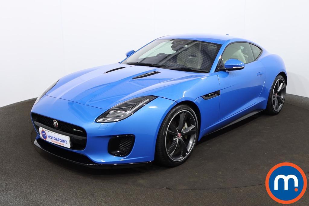 Jaguar F-Type 3.0 Supercharged V6 R-Dynamic 2dr Auto - Stock Number 1207796 Passenger side front corner
