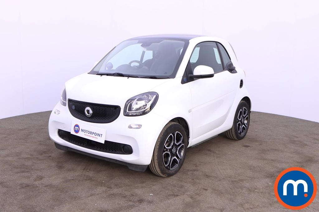 Smart Fortwo Coupe 60kW EQ Prime Premium 17kWh 2dr Auto - Stock Number 1208100 Passenger side front corner