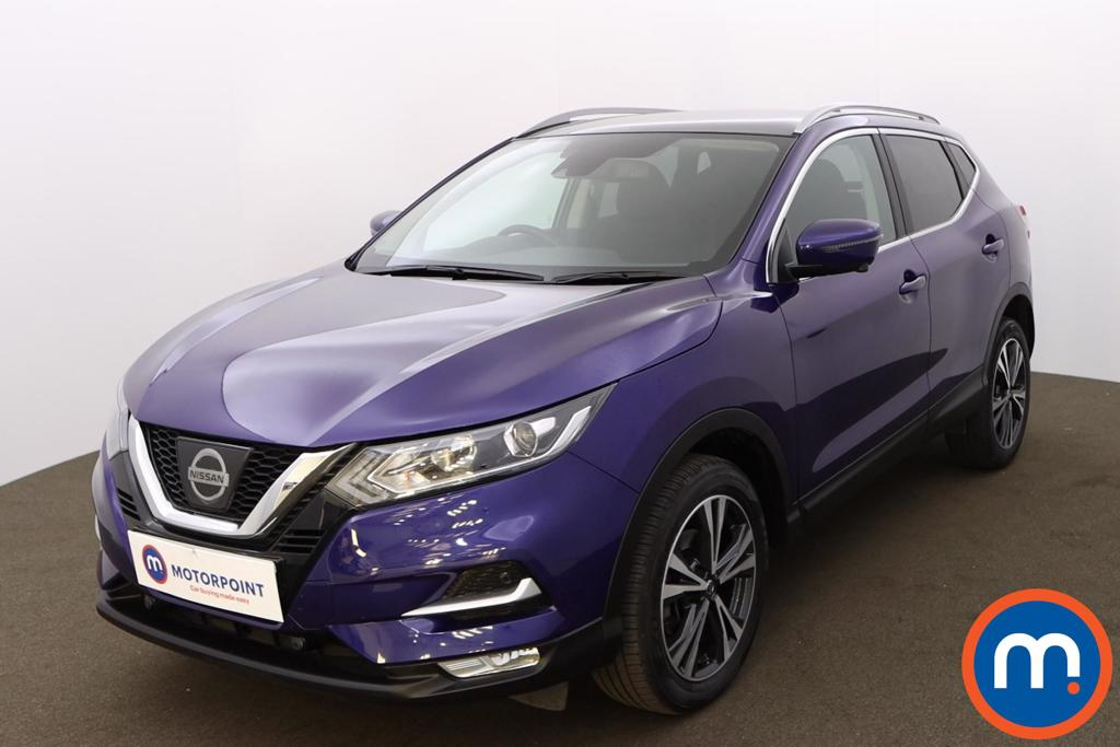 Nissan Qashqai 1.5 dCi N-Connecta [Glass Roof Pack] 5dr - Stock Number 1206967 Passenger side front corner