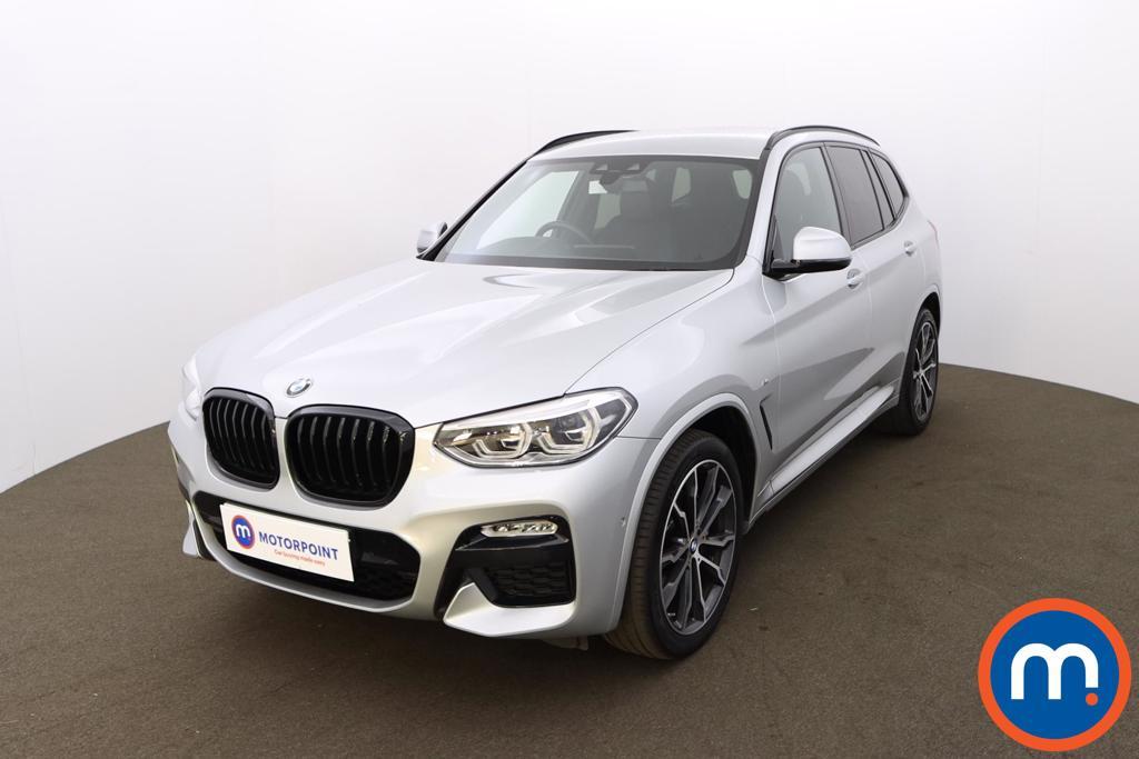 BMW X3 xDrive30d M Sport 5dr Step Auto [Plus Pack] - Stock Number 1207661 Passenger side front corner