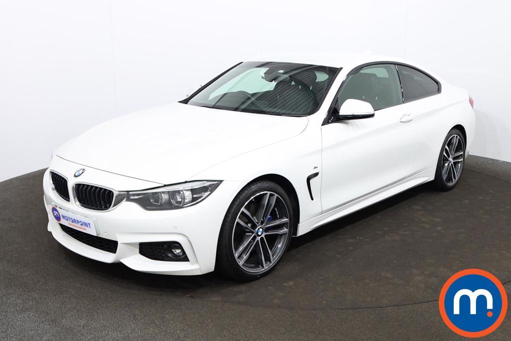 BMW 4 Series 420i M Sport 2dr Auto [Professional Media] - Stock Number 1208442 Passenger side front corner