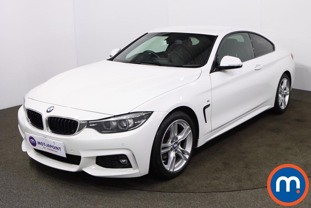 BMW 4 Series 420i M Sport 2dr Auto [Professional Media] - Stock Number 1205308 Passenger side front corner