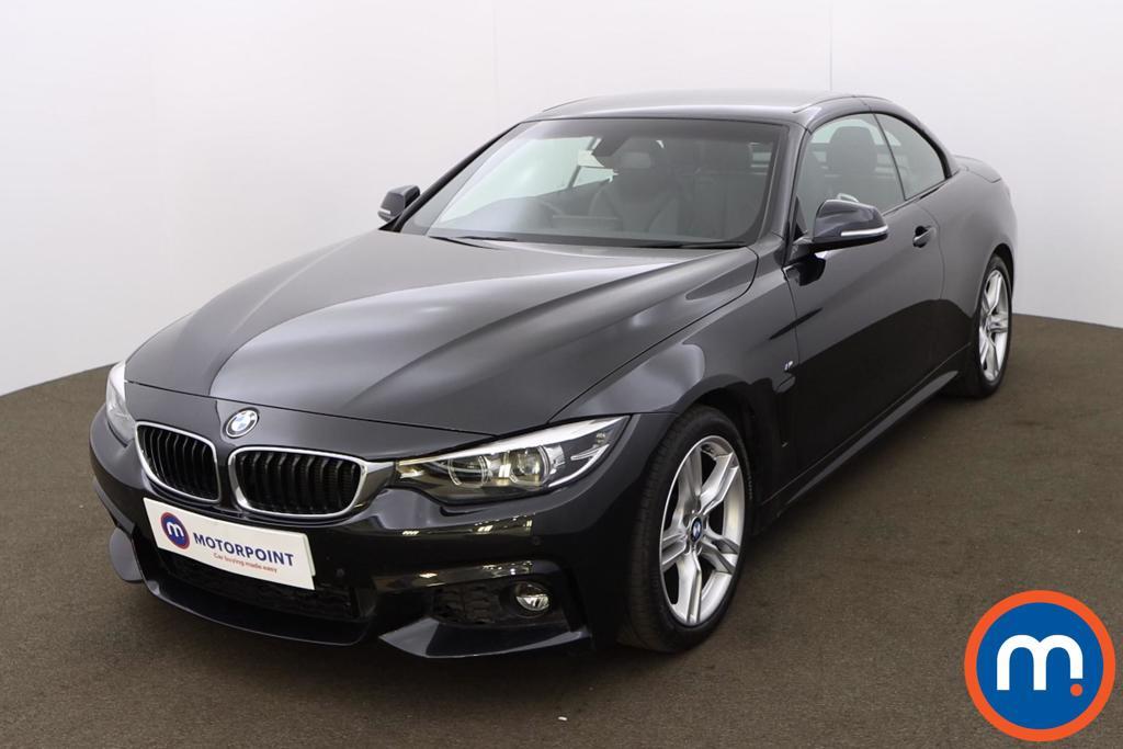 BMW 4 Series 420d [190] M Sport 2dr Auto [Professional Media] - Stock Number 1208327 Passenger side front corner