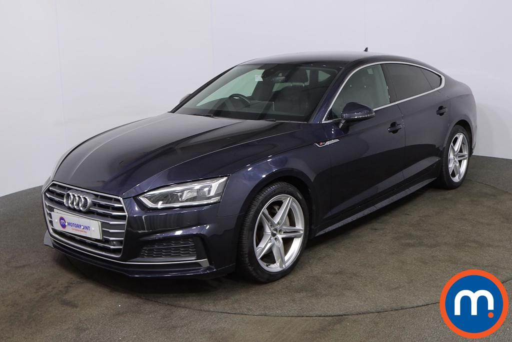 Audi A5 2.0 TDI Ultra S Line 5dr S Tronic [Tech Pack] - Stock Number 1208704 Passenger side front corner