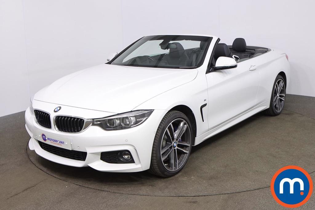 BMW 4 Series 435d xDrive M Sport 2dr Auto [Professional Media] - Stock Number 1208733 Passenger side front corner