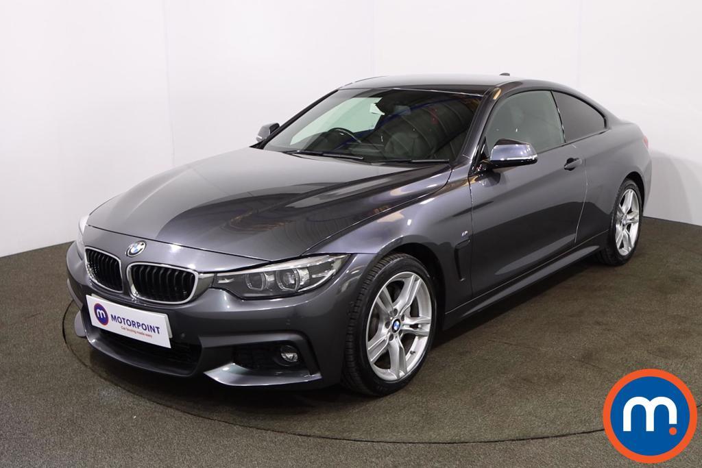 BMW 4 Series 435d xDrive M Sport 2dr Auto [Professional Media] - Stock Number 1209736 Passenger side front corner