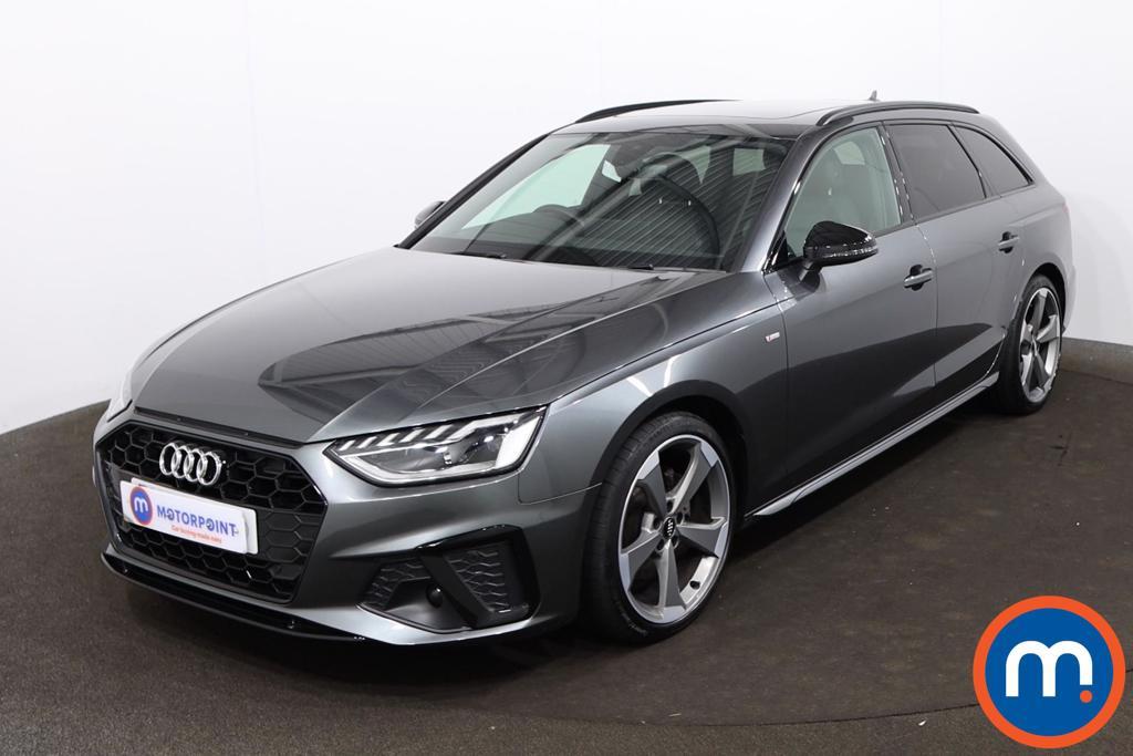 Audi A4 35 TFSI Black Edition 5dr - Stock Number 1209499 Passenger side front corner
