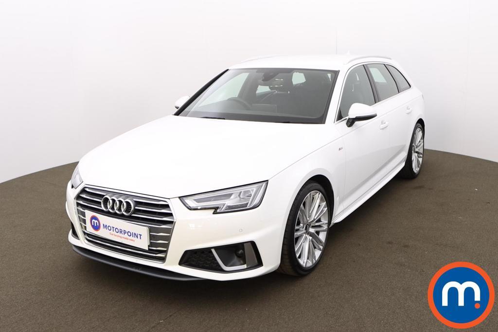 Audi A4 35 TFSI S Line 5dr [Tech Pack] - Stock Number 1210107 Passenger side front corner