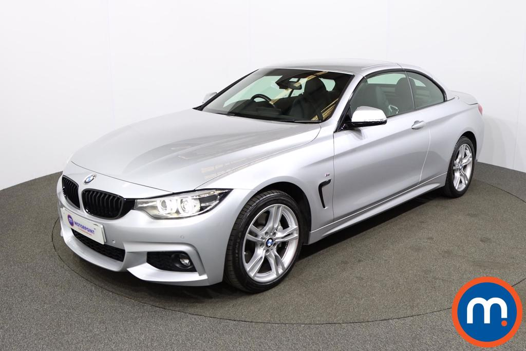 BMW 4 Series 435d xDrive M Sport 2dr Auto [Professional Media] - Stock Number 1210835 Passenger side front corner