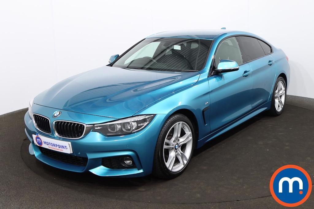 BMW 4 Series 430d M Sport 5dr Auto [Professional Media] - Stock Number 1209381 Passenger side front corner