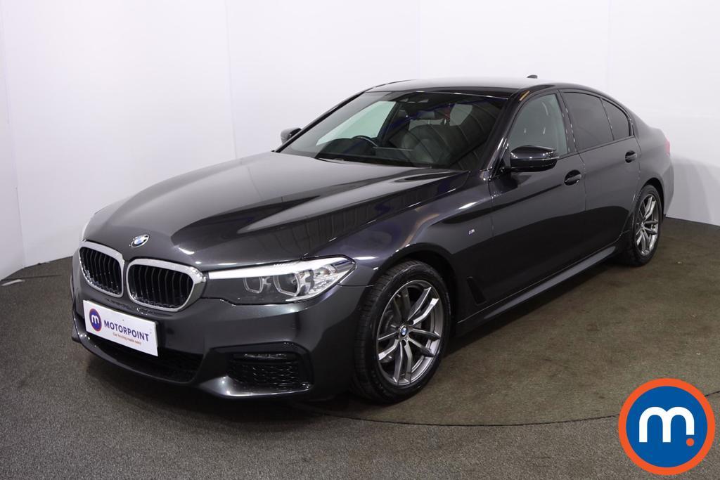 BMW 5 Series 520d M Sport 4dr Auto - Stock Number 1210567 Passenger side front corner