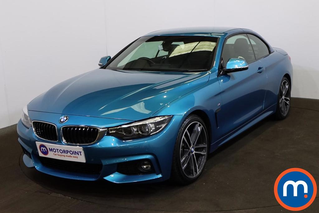 BMW 4 Series 420i M Sport 2dr Auto [Professional Media] - Stock Number 1209355 Passenger side front corner