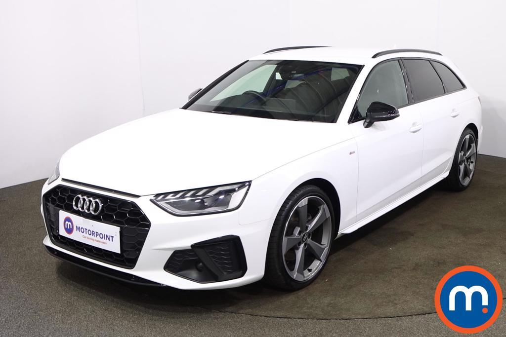 Audi A4 35 TFSI Black Edition 5dr [Comfort-PlusSound] - Stock Number 1209497 Passenger side front corner