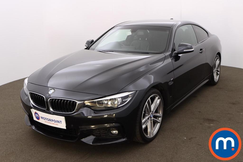 BMW 4 Series 420i M Sport 2dr Auto [Professional Media] - Stock Number 1211609 Passenger side front corner