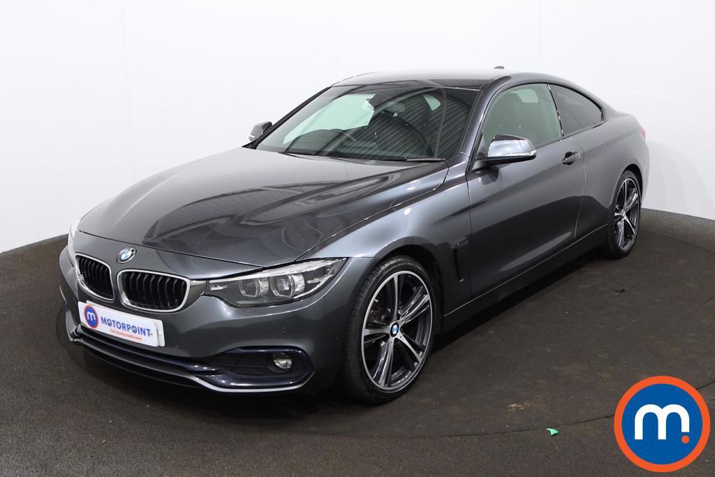 BMW 4 Series 420d [190] Sport 2dr Auto [Business Media] - Stock Number 1212082 Passenger side front corner