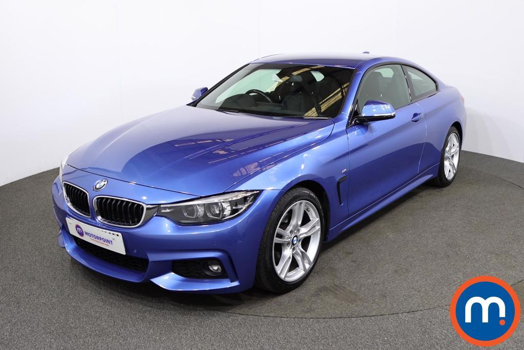 BMW 4 Series 420d [190] M Sport 2dr Auto [Professional Media] - Stock Number 1212761 Passenger side front corner